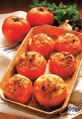 دلمه گوجهفرنگی به روش فرانسوی! عکس