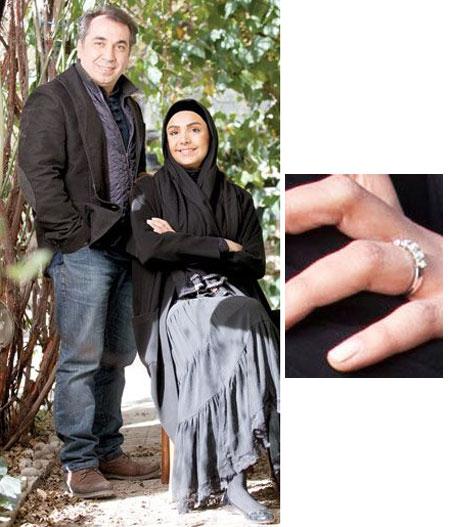 حلقه ازدواج هنرمندان مشهور چه شکلی است؟
