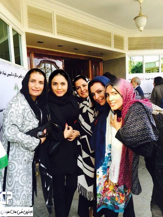 بازیگران مشهور زن در بنیاد خیریه آراسته