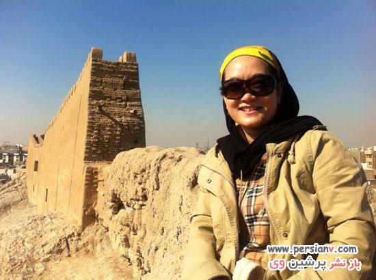 تصاویر کمیاب از زن چینی سریال پایتخت3