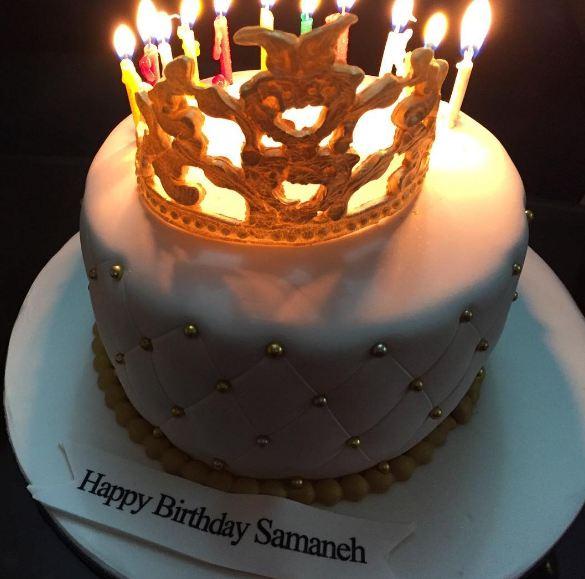 عکسهایی تماشایی از جشن تولد سمانه پاکدل! تصاویر