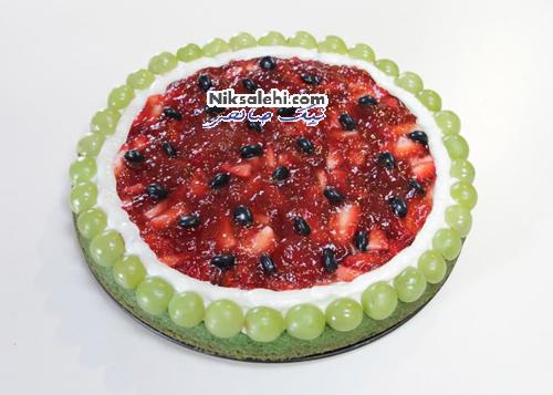 دسر پیتزا هندوانه ای پیشنهاد زیبا برای شب یلدا