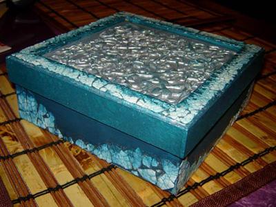 آموزش ساخت جعبه تزئینی با مواد دورریختنی