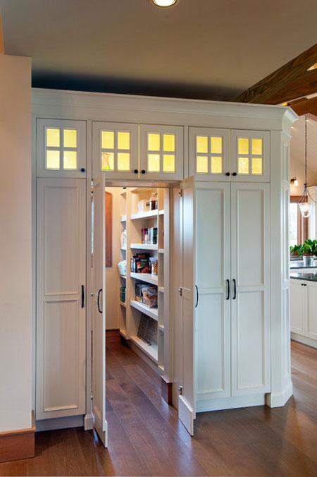 طراحی قفسه هایی برای کابینت  تصاویر