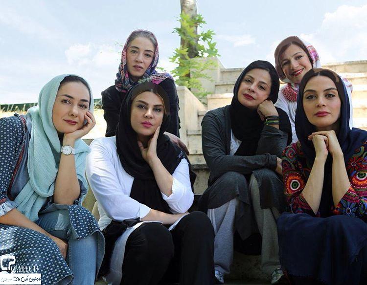عکس های جالب تیم اسکواش بازیگران زن ایرانی