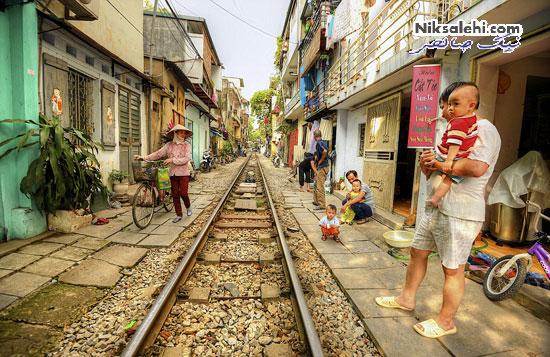 تصاویری از زندگی عجیب و جالب ساکنان یک شهر