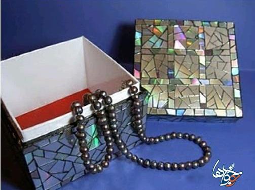 ساخت کاردستی جعبه جواهرات تصاویر