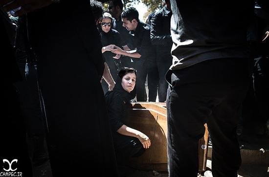 عکسهای مراسم تشییع پیکر داوود رشیدی با حضور هنرمندان