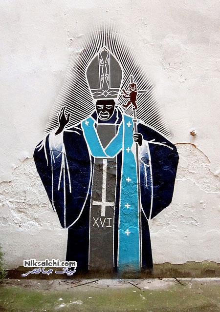 هنر خیابانی یک هنرمند استرالیایی