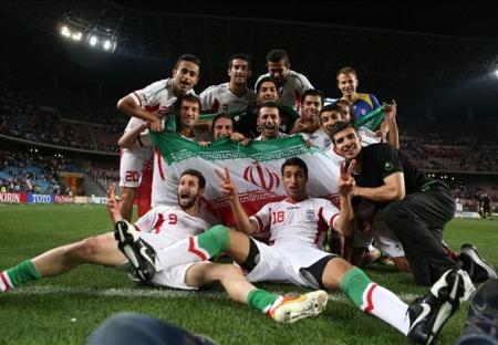 بازیکنان ایران در جام جهانی، شبیه ستارگان هالیوود هستند عکس