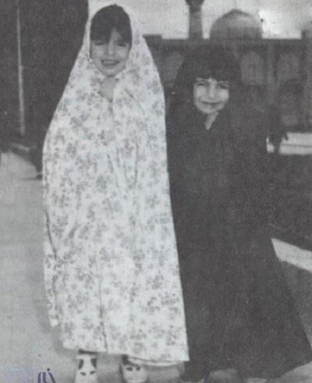 لیلا حاتمی و لیلی رشیدی در کودکی و بزرگسالی در کنار هم! تصاویر