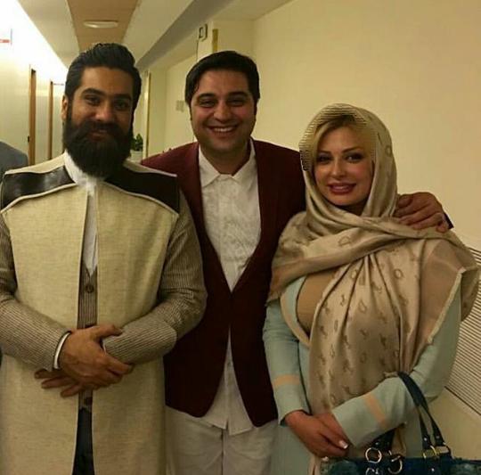 عکس های جدید و دیده نشده نیوشا ضیغمی با همسرش