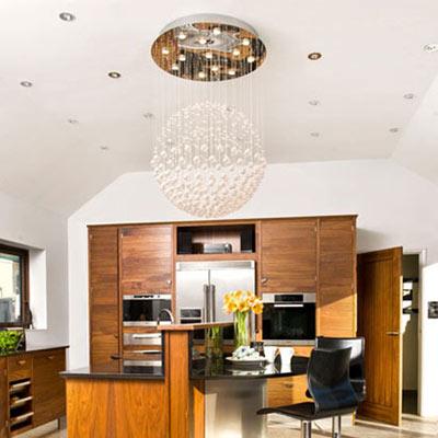 نورپردازی خاص برای زیبا تر شدن آشپزخانه تصاویر