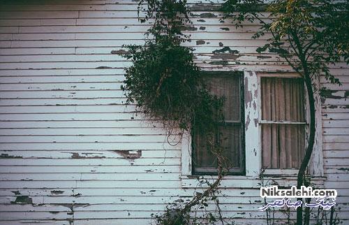 داخل خانه ای که از 26 سال پیش دست نخورده باقی مانده