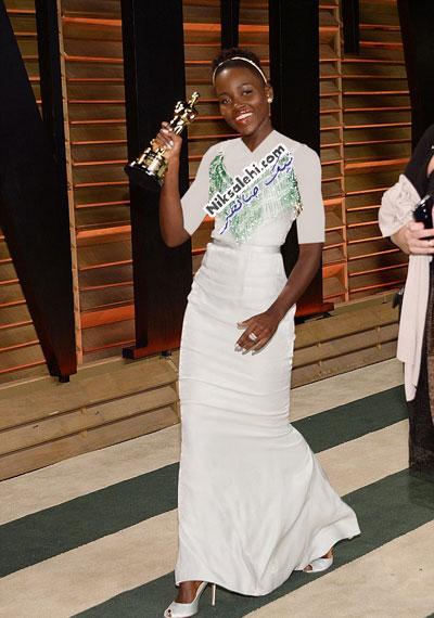 تصاویری از حواشی جالب مراسم اسکار 2014