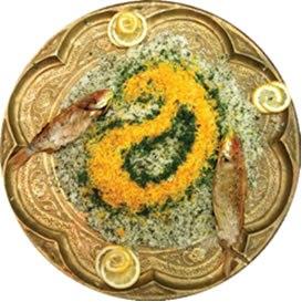 تصاویر : تزئین برنج!
