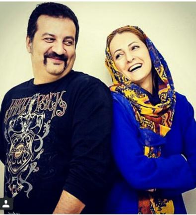 داستان ازدواج شقایق دهقان و همسرش مهراب تصاویر