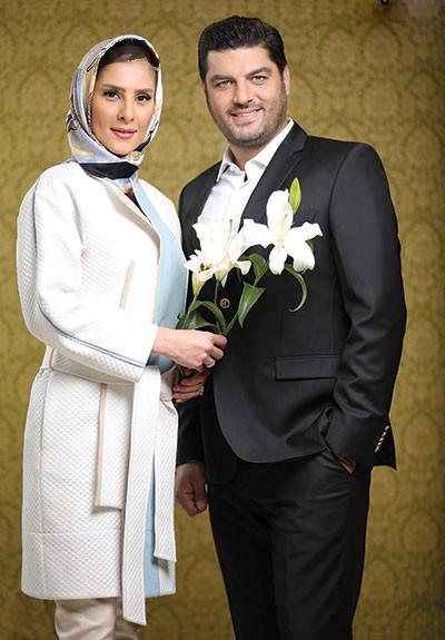 سام درخشانی و همسرش: دخترمان سال دیگر به دنیا می آید! تصاویر