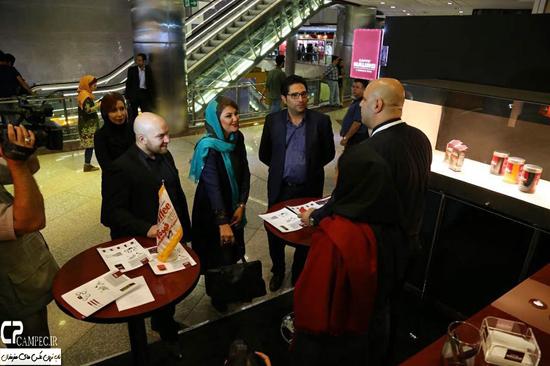 عکسهای لاله اسکندری در جشنواره بینالمللی کافکس قهوه