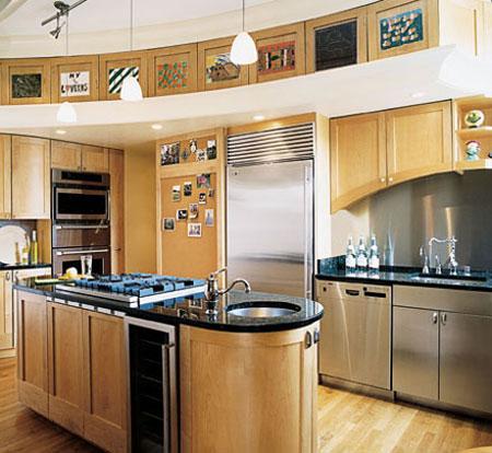 دکوراسیون شیک آشپزخانه  تصاویر