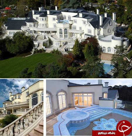 مجلل ترین و زیباترین خانه های جهان را ببینید! تصاویر
