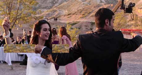 عکس عروسی واقعی بازیگران سریال شمیم عشق