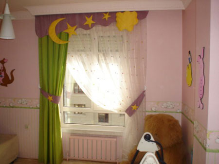 مدل پرده اتاق کودک  تصاویر