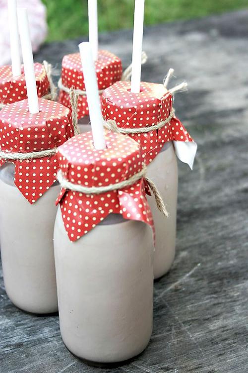 ۴ ایده برای تزئین شیر
