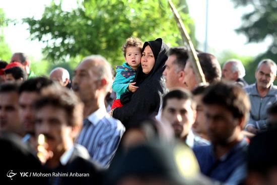 اجرای حکم اعدام قاتل طلا فروشی مشهد در ملاعام
