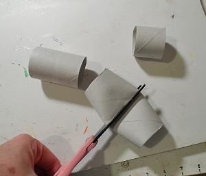 ساخت کاردستی دهکده زیبا با مقوا و کاغذ رنگی  تصاویر