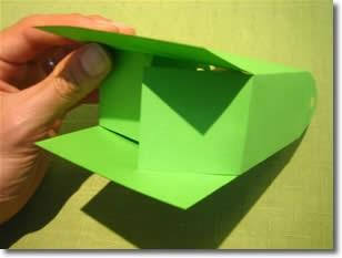 آموزش ساخت جعبه هدیه بسار شیک تصاویر