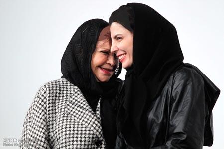 «لیلا حاتمی» به همراه مادرش در برج میلاد تصاویر