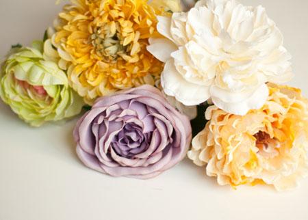 ساخت جاشمعی گل بسیار ساده با مواد دور ریختنی تصاویر