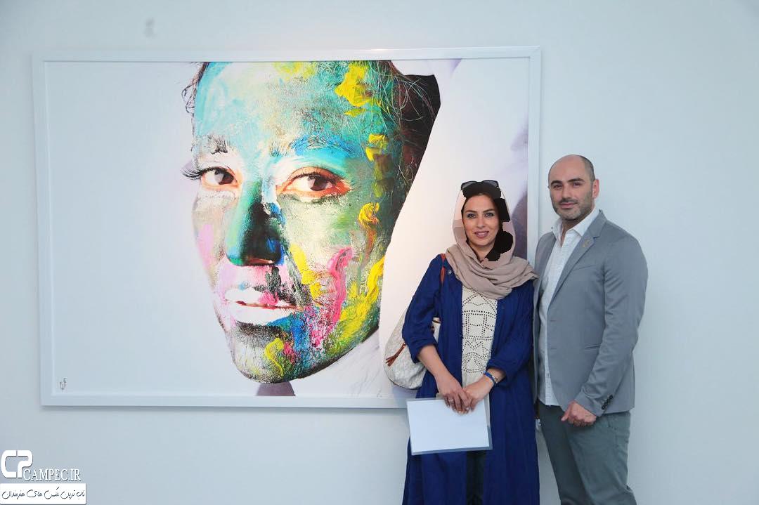 عکس های بازیگران مشهور در افتتاحیه نمایشگاه زن و زمین