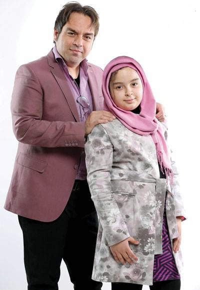 رابطه نزدیک شهرام قائدی و دخترش سارینا