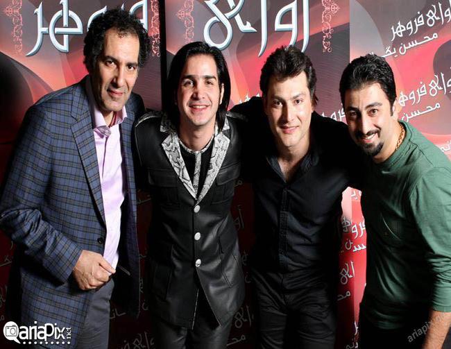 بهنام تشکر در کنسرت محسن یگانه