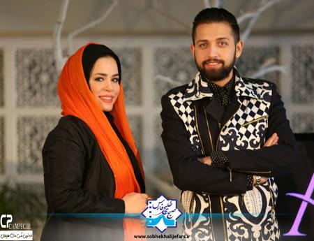عکسهای ملیکا شریفی نیا و محسن افشانی در برنامه صبح خلیج فارس تصاویر