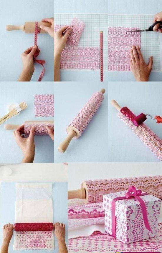 ساختن جعبه کادو ی زیبا با طرح دلخواه برای ولنتاین متفاوت تصاویر