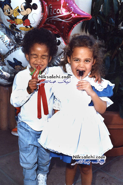 تصاویر دیده نشده از کودکی سوپراستارهای هالیوود
