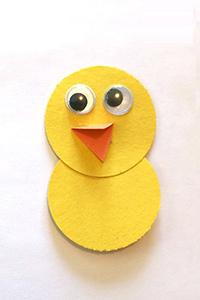 آموزش ساخت پرنده با لانه بسیار جذاب با کاغذ رنگی تصاویر