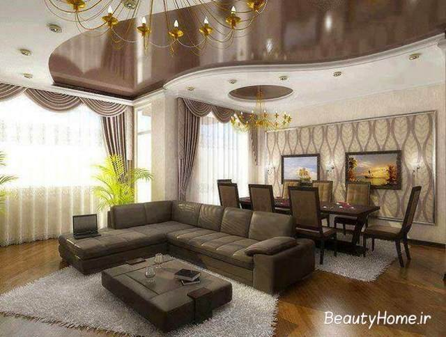 ایده های نورپردازی دکوراسیون داخلی اتاق پذیرایی