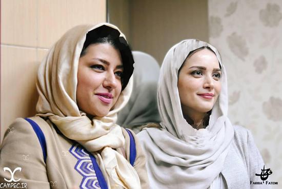 بهنوش طباطبایی و همسر شهاب حسینی در کنسرت علیرضا قربانی