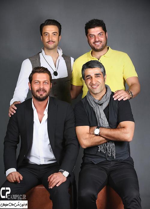 عکس های بازیگران در کنسرت خرداد ماه بنیامین بهادری