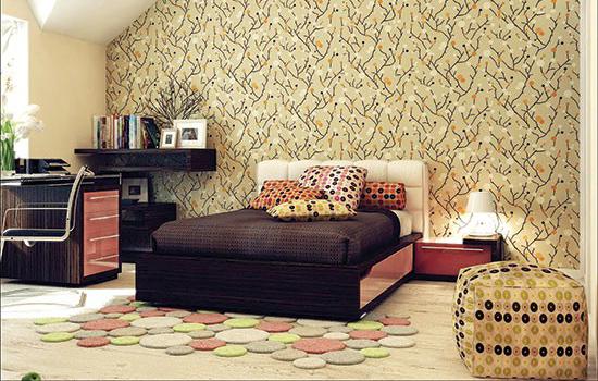 برای شیک شدن دکوراسیون منزل کاغذ دیواری بهتر است یا رنگ تصاویر