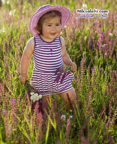 ژست های زیبایی برای عکس گرفتن از بچه ها