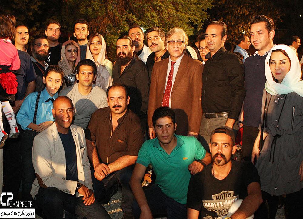 تصاویر بازیگران در ضیافت شام سریال شهرزاد