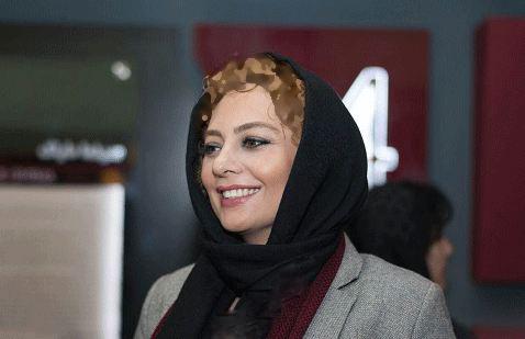 یکتا ناصر در نشست خبری فیلم سینمایی