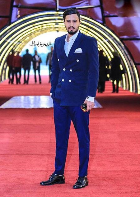 مهرداد صدیقیان و تیپ های متفاوتش در جشنواره فیلم فجر تصاویر