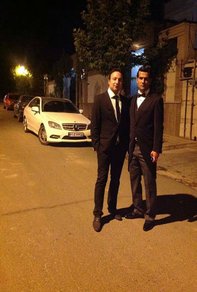 عکس خصوصی از مسعود شجاعی