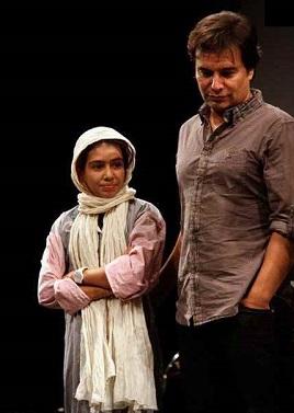 همسر بهاره رهنما از حسادت به یک دختر 16ساله میگوید!